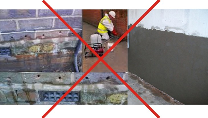 Damp Proof Course Chemical Injection
